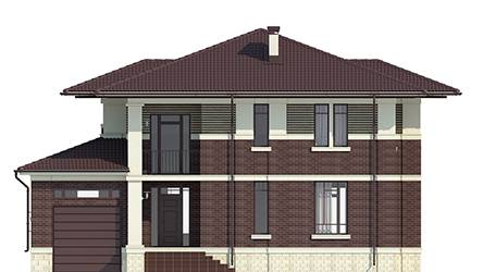 Фасад проекта 93-98
