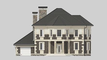 Фасад проекта 95-10