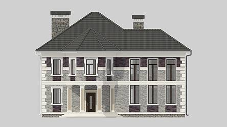 Фасад проекта 95-50
