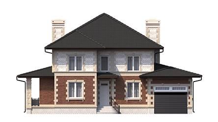 Фасад проекта 96-18