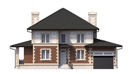 Фасад проекта 96-33