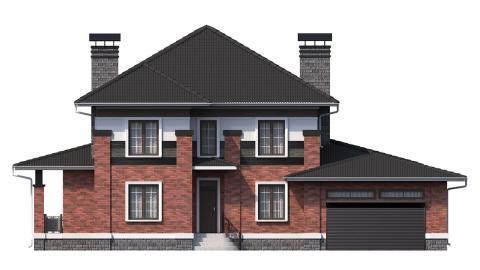 Фасад проекта 96-38