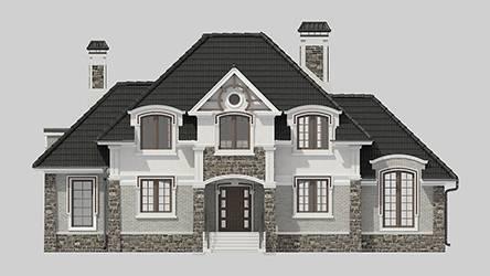 Фасад проекта 96-80