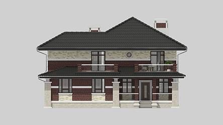 Фасад проекта 96-91