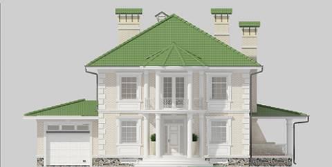 Фасад проекта 96-96