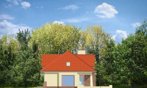 Фасад проекта Бенедикт-2