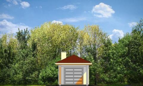 Фасад проекта BG08