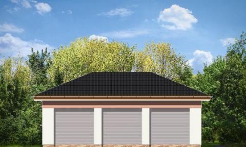 Фасад проекта BG20