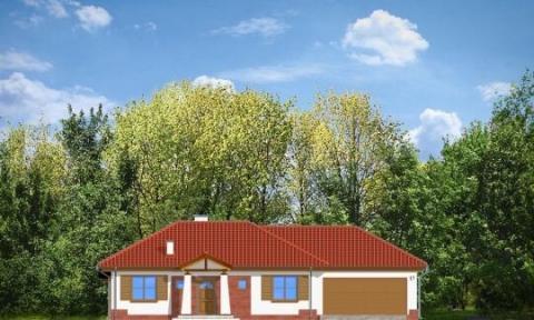 Фасад проекта Четыре угла