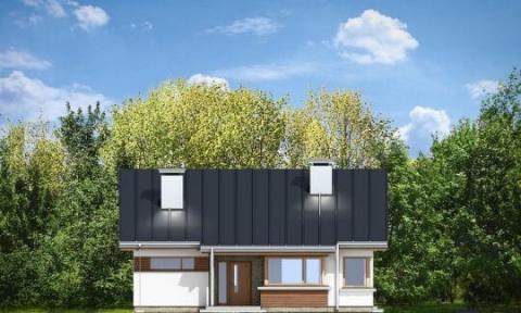 Фасад проекта Дом для троих