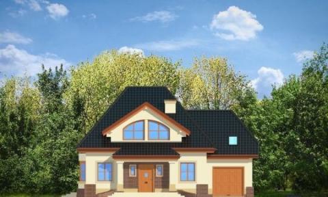 Фасад проекта Дом на Медаль-2