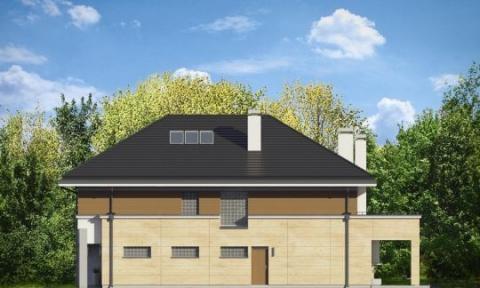 Фасад проекта Лесная Резиденция