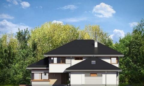 Фасад проекта Дом с видом