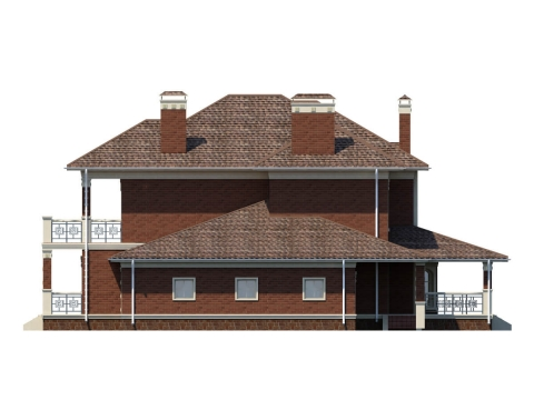 Фасад проекта Лион