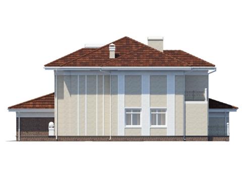 Фасад проекта Пралине 2
