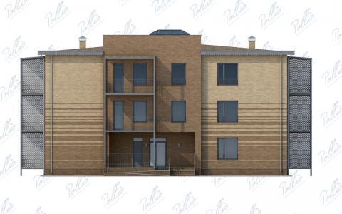 Фасад проекта Xb1