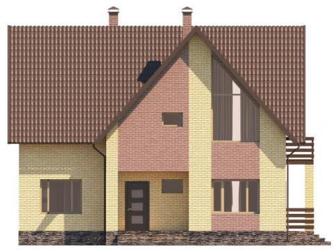 Фасад проекта Лавальд 1