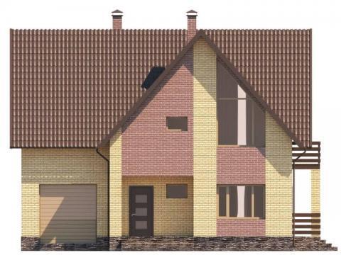 Фасад проекта Лавальд 2