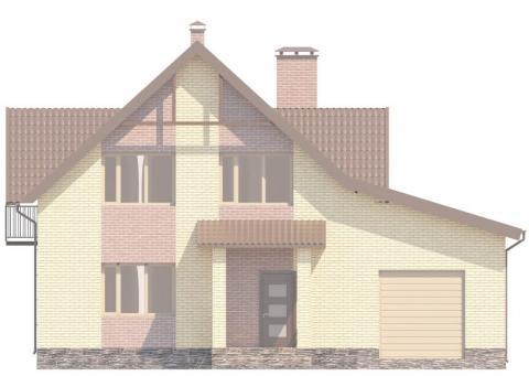 Фасад проекта Лавальд 4