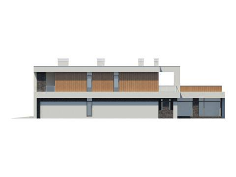 Фасад проекта Бат