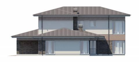 Фасад проекта Чендлер-2
