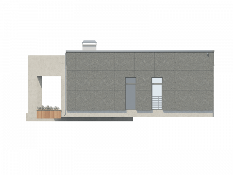 Фасад проекта Ланц