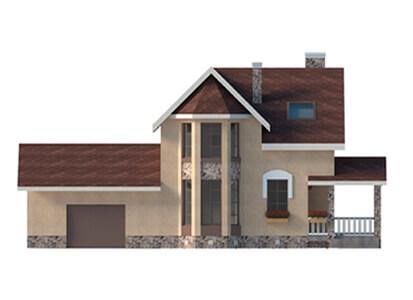 Фасад проекта Баварский дом