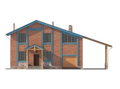 Фасад проекта Адирондак