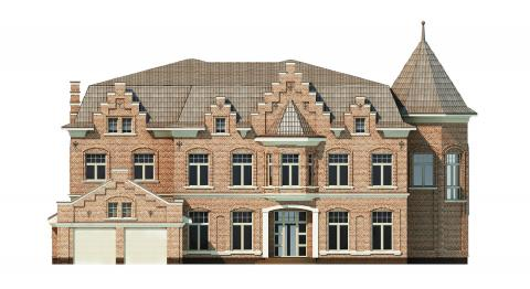 Фасад проекта Ido-1000