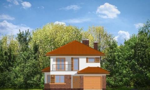 Фасад проекта Кассиопея