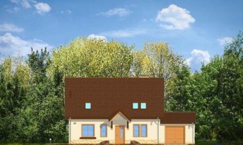 Фасад проекта Лесной Заулок-2