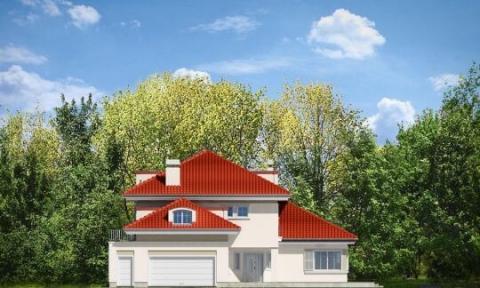 Фасад проекта Малибу