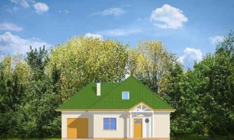 Фасад проекта Мазурек-2