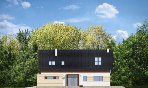 Фасад проекта Современный