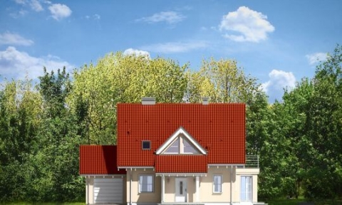 Фасад проекта Орлик