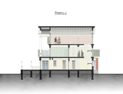 Фасад проекта Полина