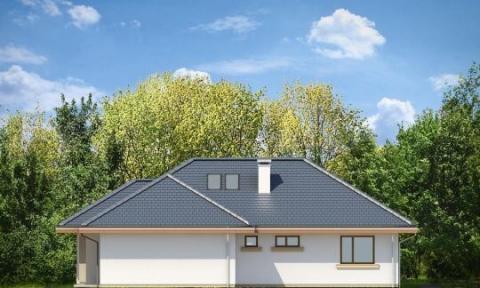 Фасад проекта Дом по размеру-2