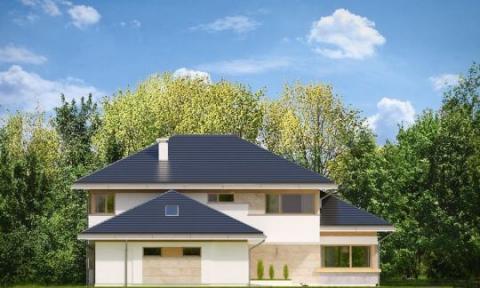 Фасад проекта Дом с Видом-4