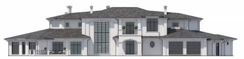 Фасад проекта Ривуар