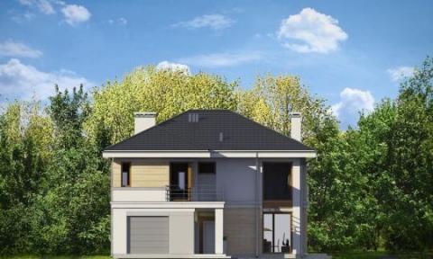 Фасад проекта Ривьера-2