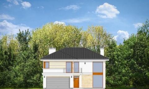 Фасад проекта Ривьера
