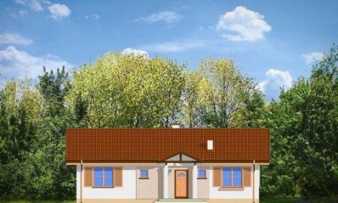 Фасад проекта Солнечный