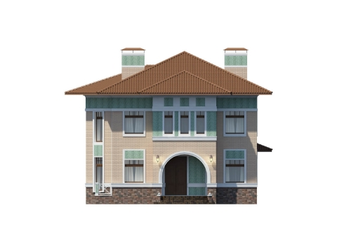 Фасад проекта Тиффани