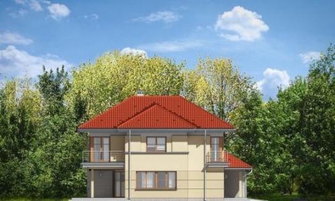 Фасад проекта Бирюза