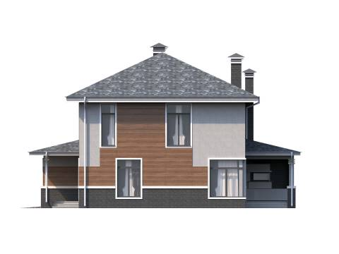 Фасад проекта Торнео