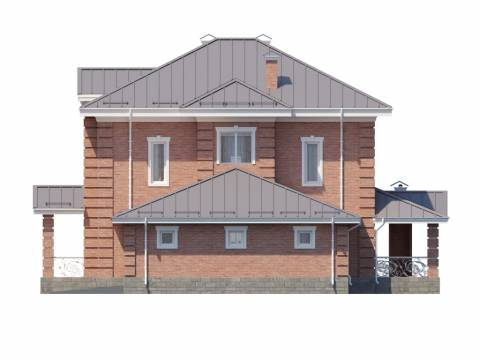 Фасад проекта Дарли-2