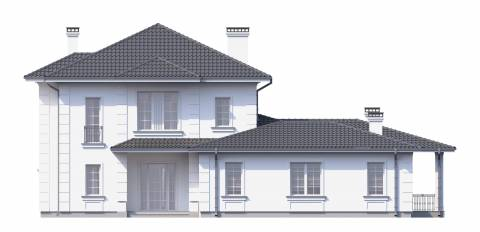 Фасад проекта Гран