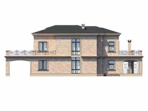 Фасад проекта Римини