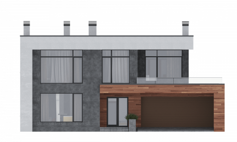 Фасад проекта Турин