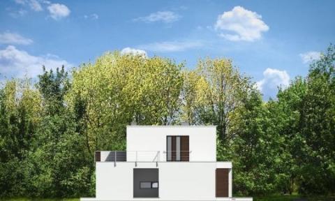 Фасад проекта Вилла Азур
